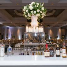 Loews Vanderbilt Wedding, Nashville Wedding, Bar decor