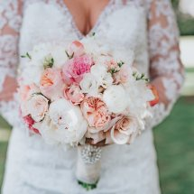 brides bouquet, pink, pink white