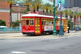 Trolleys are everywhere in New Orleans...what a great way to get around.