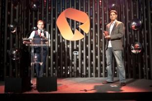 Elliott King at 2013 BIMA awards