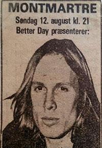 Elliott Murphy - Copenhagen Newspaper Ad 1979