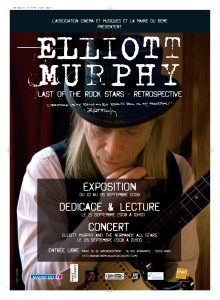 Elliott Murphy - Last Of The Rock Stars Poster