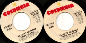 Elliott Murphy - Drive All Night Promo 45