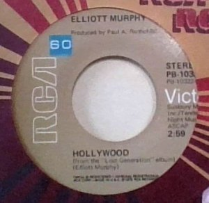 Elliott Murphy - Hollywood US 45
