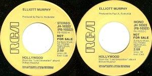 Elliott Murphy - Hollywood Promo 45