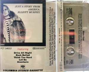 Elliott Murphy - Just A Story From America Cassette