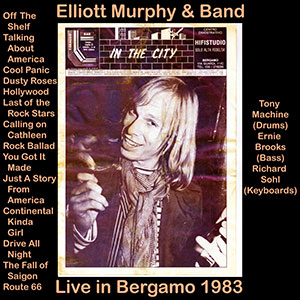 Elliott Murphy - Live In Bergamo 1983