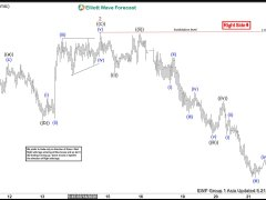 Elliott Wave View: Further Downside in GBPNZD