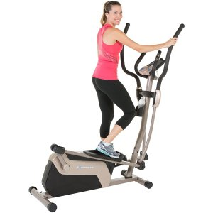 Exerpeutic 5000 Magnetic Elliptical Trainer with Double