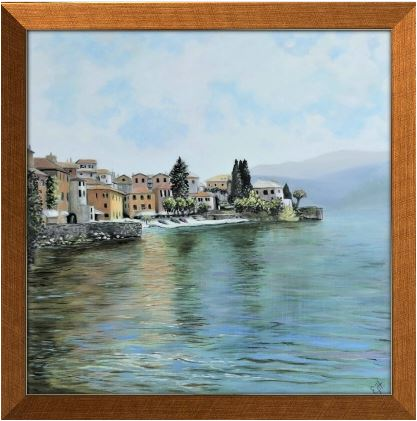 lake cono oil painting