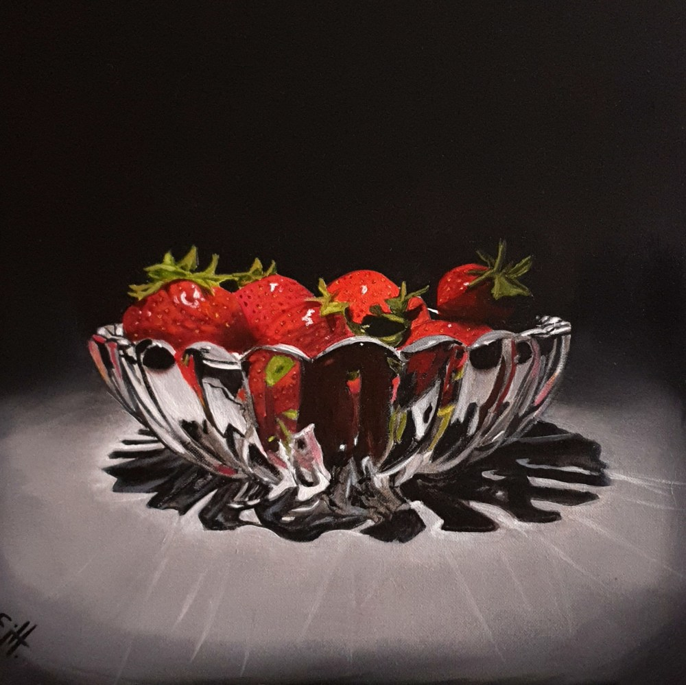 Dramatic Breakfast (sold)