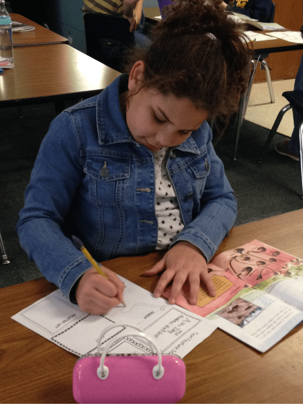 A Scavenger Hunt For Nonfiction Text Features