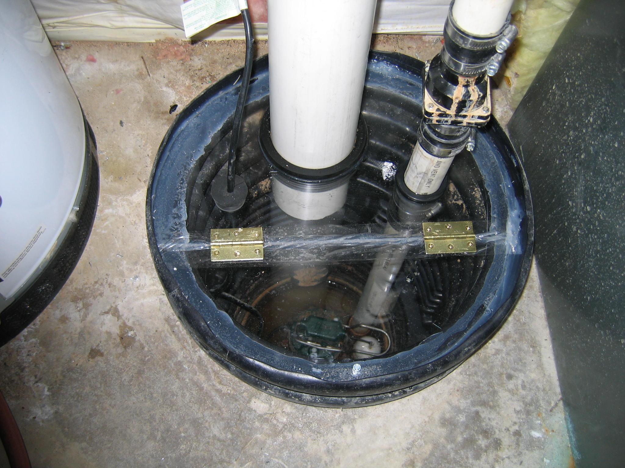 Sump Pump Radon Sump Pump Cover