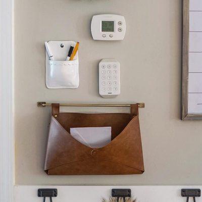 DIY Clay Wall Pocket