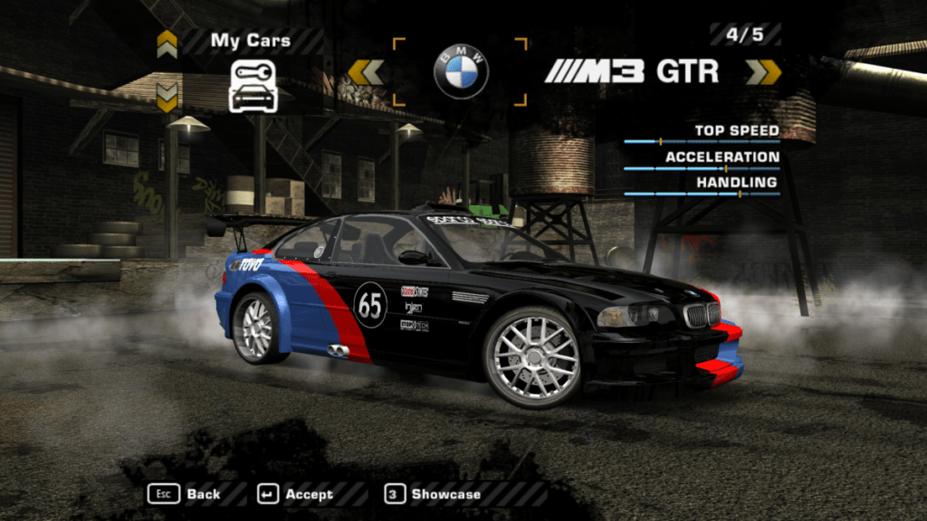 BMW M3 GTR Street Mod for NFS: Most Wanted   The Ellis Workshop