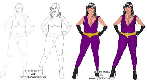 Super Heroína 2 montaje blog