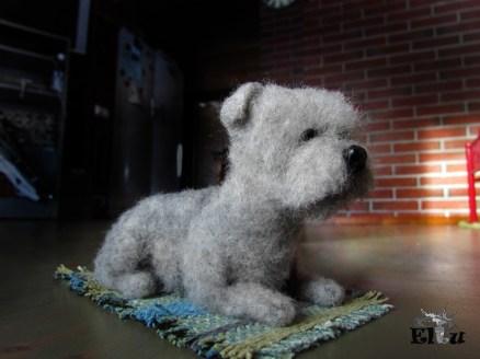 koira; huopakoira; lemmikki; miniatyyri; lahja koiran omistajille; koiranomistaja; oman koira; rakas koira; koiran näyttely; lahja; lahjaksi; paras lahja; villakoira; huovutus; käsityö; taide; tehty suomessa