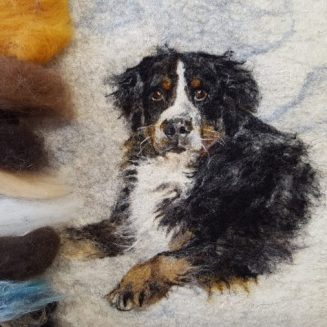 Elena Bondar   Painting with Wool