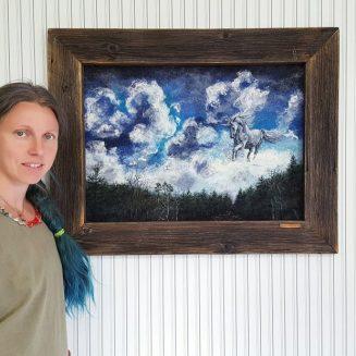 Wool art Elena Bondar