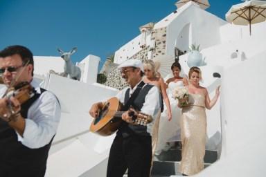 ellwed BenWyattPhotography-35 Blush and Gold Luxury Chic Santorini Wedding
