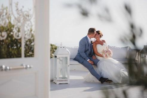 ellwed BenWyattPhotography-62 Blush and Gold Luxury Chic Santorini Wedding
