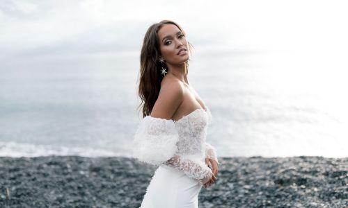 New Collection Rime Arodaky babe Bride on the beach