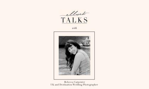 Use TikTok to plan your wedding Ellwed Talks Podcast with Rebecca Carpenter portrait