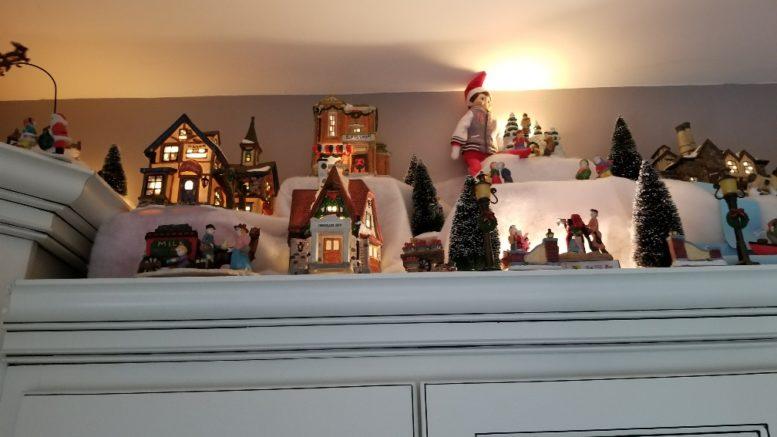 Spoiler Alert House Tour Home Features Christmas Village