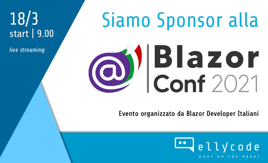 Siamo sponsor della Blazor Conf 2021