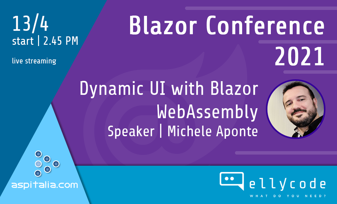 Our CTO at Blazor Conference 2021
