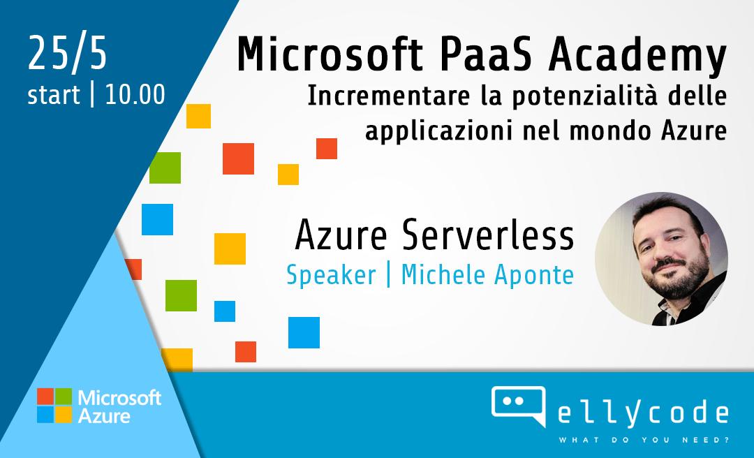 Azure Serverless Services alla PaaS Academy