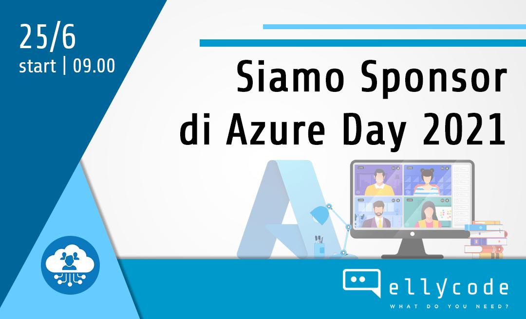 Sponsor gold di Azure Day 2021