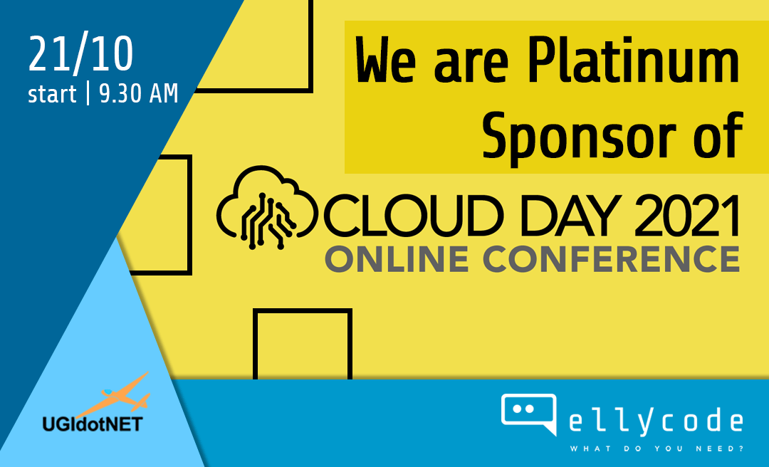 Sponsor of Cloud Day 2021