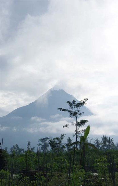 Mt Merapi smoking still (2011)