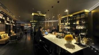 Flint Grill & Bar JW Marriott Hong Kong bar