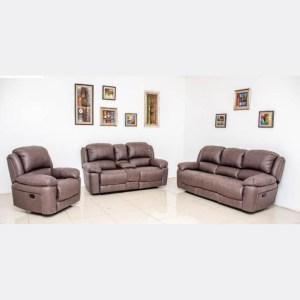 Jedi Recliner Sofa - Chocolate 6 seater