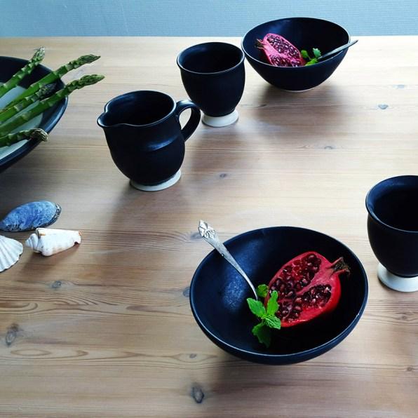 Sort stel - Elly Pedersen Keramik