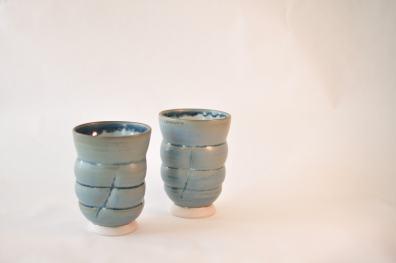 Blå krus - Elly Pedersen Keramik