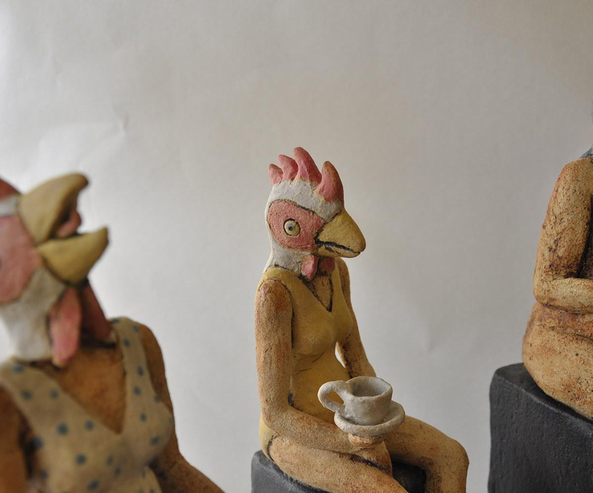 Fuglekvinder - Elly Pedersen Keramik
