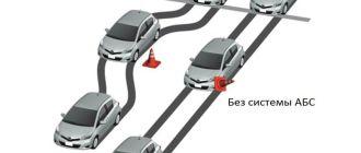 Проверка датчика ABS