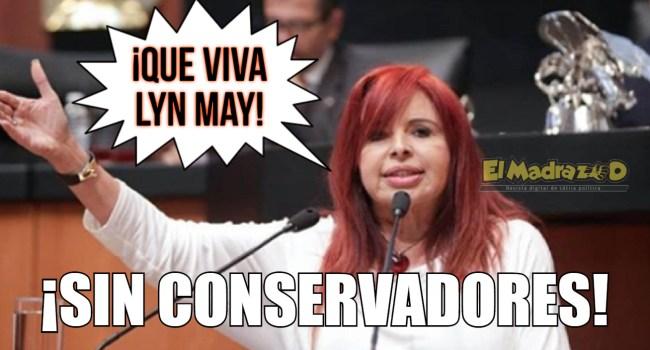 ¡Sin conservadores!