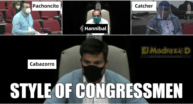style of congressmen