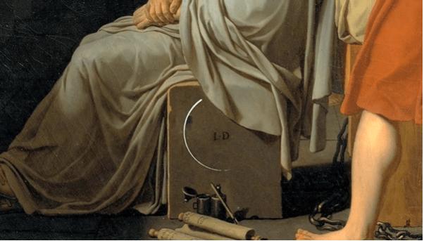 لوحة موت سقراط