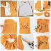 collage blusa mostaza