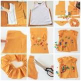 collage blusa mostaza
