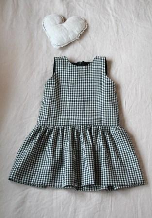 coser pichi niña