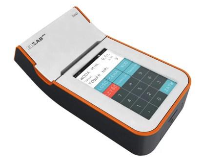 Kasa fiskalna ELZAB K10 - biało-pomarańczowa