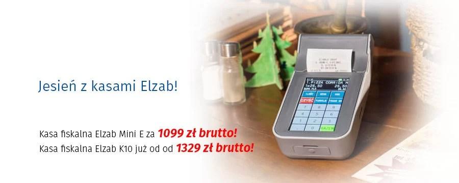 Kasy fiskalne Elzab