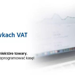 Zmiany stawek VAT - Lipiec 2020
