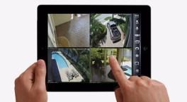 استخدام كاميرات المراقبة عن طريق الاجهزة اللوحية